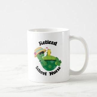 Retired School Nurse Coffee Mugs