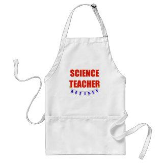 RETIRED SCIENCE TEACHER APRONS