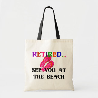 Retired - See You at the Beach Tote Bag