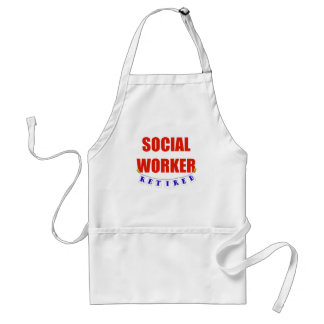 RETIRED SOCIAL WORKER STANDARD APRON