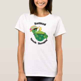 Retired Speech Therapist (Turtle) T-Shirt