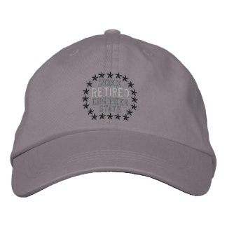 Retired Stars Personalize it  Embroidered Cap