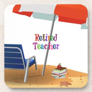 Retired Teacher Coaster