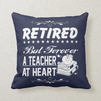Retired Teacher Cushion