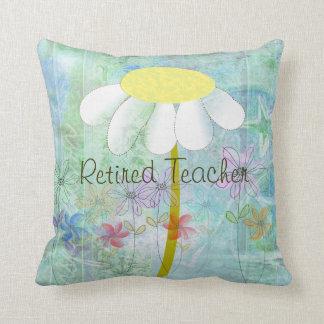 Retired Teacher Daisy Nap Pillow