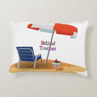 Retired Teacher Decorative Cushion
