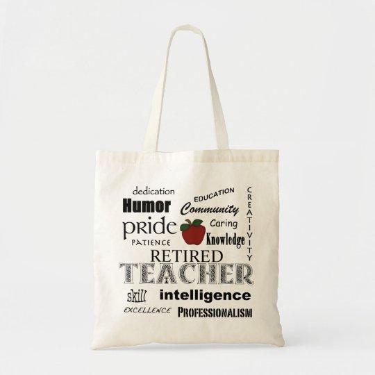 Retired Teacher Pride-Red Apple+Customisable