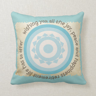 Retired Teacher Quote Pillow