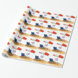 Retired Teacher Wrapping Paper