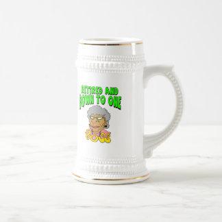 Retired To One Boss (2) Mug
