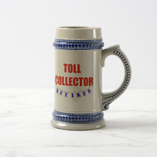 Retired Toll Collector Beer Steins