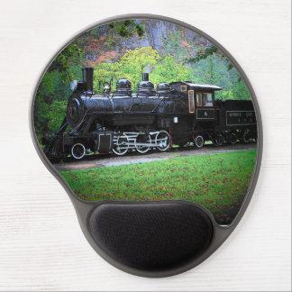 Retired Train Gel Mouse Mats
