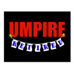 Retired Umpire Postcards
