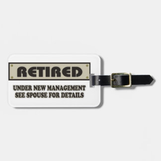 RETIRED. Under New Management. See Spouse Luggage Tag