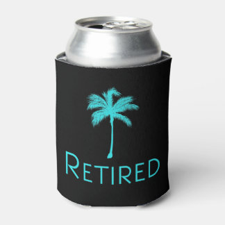 Retired Vacation Palm Tree Can Cooler