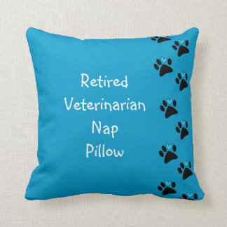 Retired Veterinarian Nap Pillow