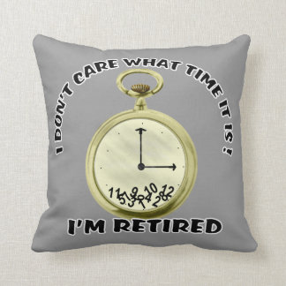 Retired watch American MoJo Pillow Throw Cushion