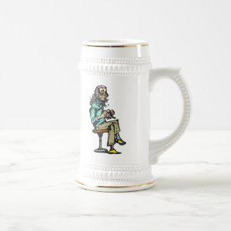 Retired Woman Coffee Mugs