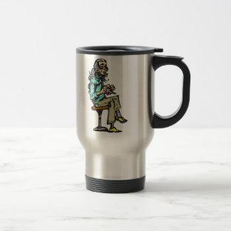 Retired Woman Travel Mug