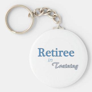 Retiree in Training Key Ring