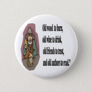 Retirement 6 Cm Round Badge