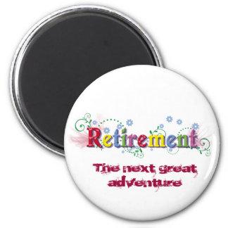 Retirement Bliss 6 Cm Round Magnet