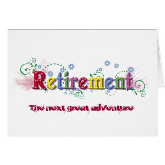 Retirement Bliss Greeting Cards