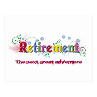 Retirement Bliss Postcard