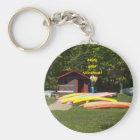 Retirement Canoes Key Ring