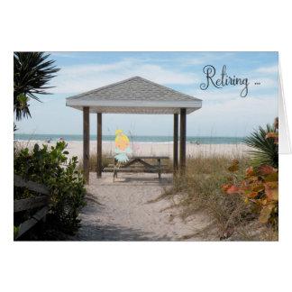 Retirement Card with a Beach Fairy