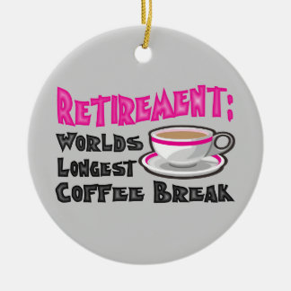Retirement Christmas Ornament