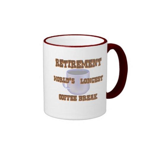 Retirement Coffee Mugs