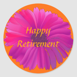 Retirement: Colorful Retirement Sticker