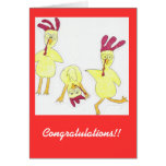 RETIREMENT CONGRATS GREETING CARD