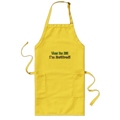 Retirement Gifts and Retirement T-shirts Apron