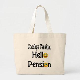Retirement Gifts and Retirement T-shirts Jumbo Tote Bag