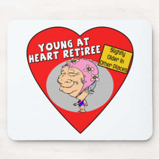 Retirement Gifts and Retirement T-shirts Mouse Mat