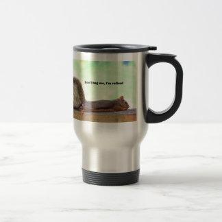 Retirement Humor Squirrel 15 Oz Stainless Steel Travel Mug