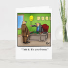 """Retirement Humour Greeting Card """"Spectickles"""""""