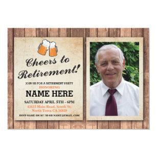 retirement party invitations announcements zazzle uk