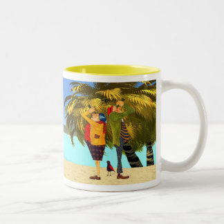 RETIREMENT is a BLAST Two-Tone Coffee Mug