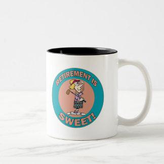 Retirement Is Sweet (2) Coffee Mug