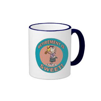 Retirement Is Sweet 2 Coffee Mug