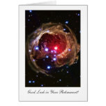 Retirement Luck, Red Supergiant Star Monocerotis Greeting Cards