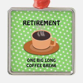 RETIREMENT - One Big Long Coffee Break Christmas Ornament