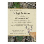 Retirement Party Buck and Doe Invites