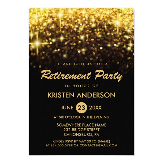 retirement party card