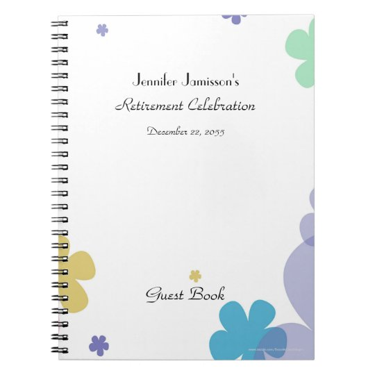 Retirement Party Guest Book