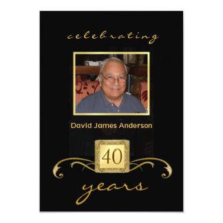 Retirement Party Invitations - Formal Photo Invite