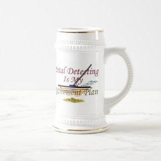 Retirement Plan - Metal Detecting Mug